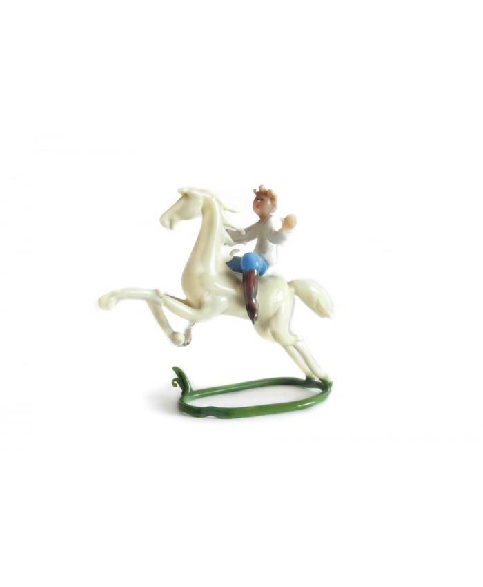 Jezdec na koni. J. Brychta