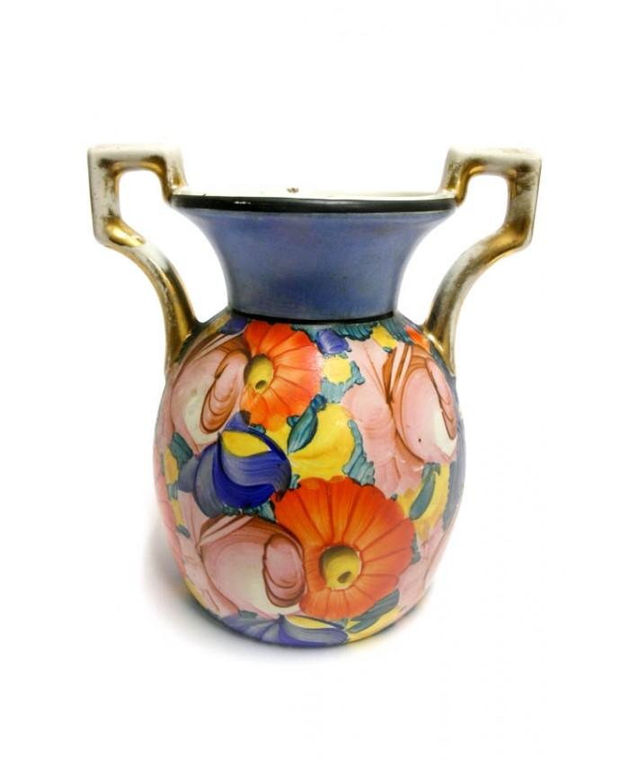 Malovaná váza R.Kamenický