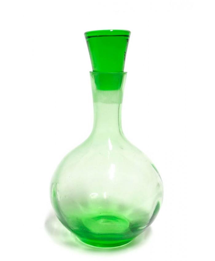 Flakon ze zeleného skla