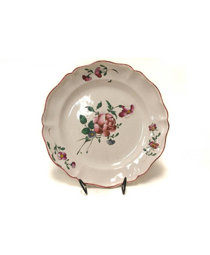 Dekorační talíř Luneville, 18.st.