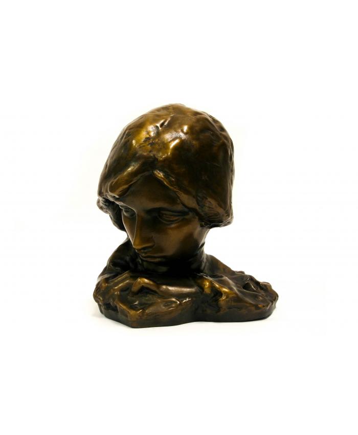 Secesní dívka, L. Kofránek