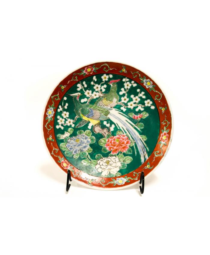 Malovaný talíř Japonsko