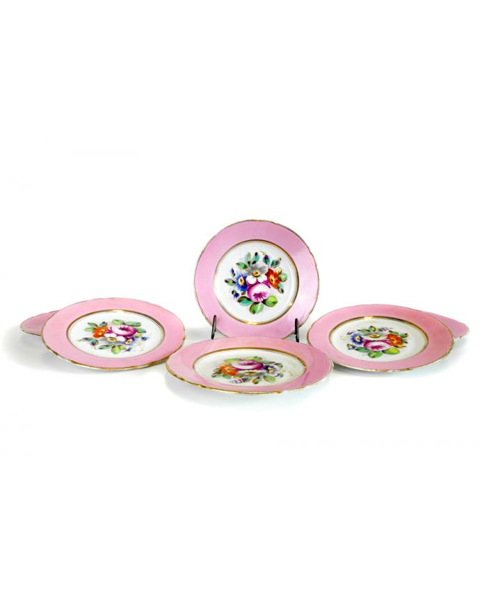 Malované talíře 19. st.