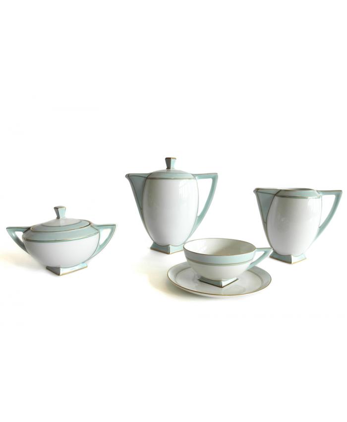 Kávový a čajový servis Art Deco