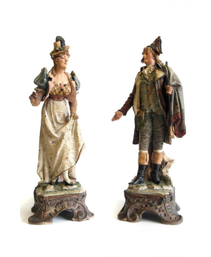 Párové sochy J. Maresch