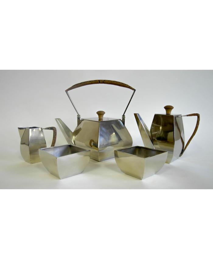 Kubistický čajový servis Argentor Werke