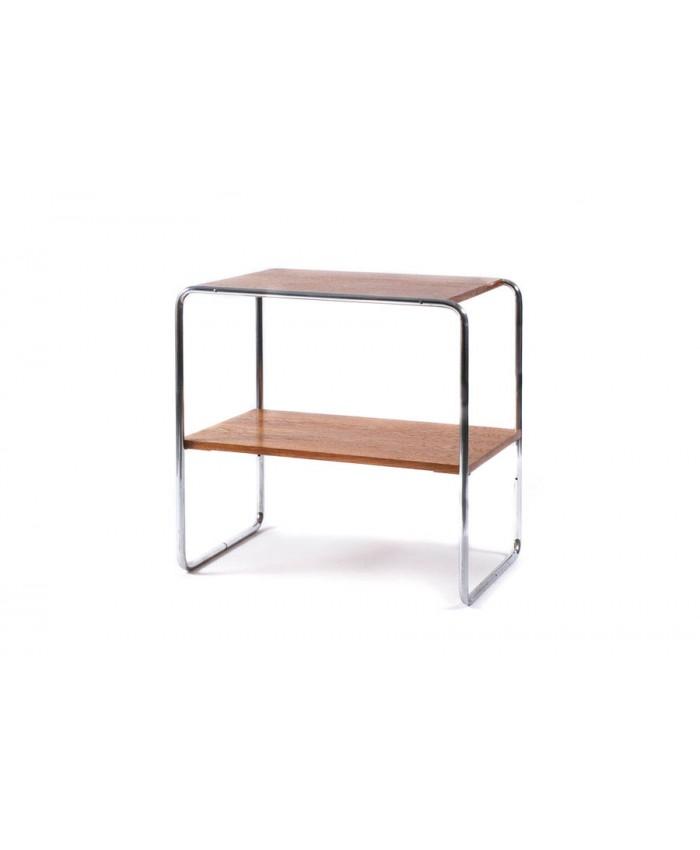 Chromovaný odkládací stolek